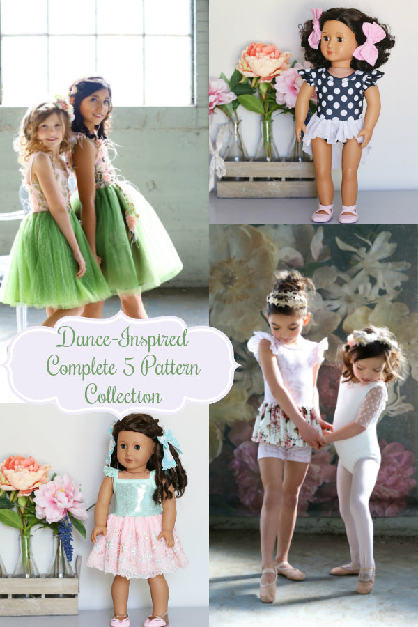 Dance-Inspired Collection:  Complete 5 Pattern Bundle