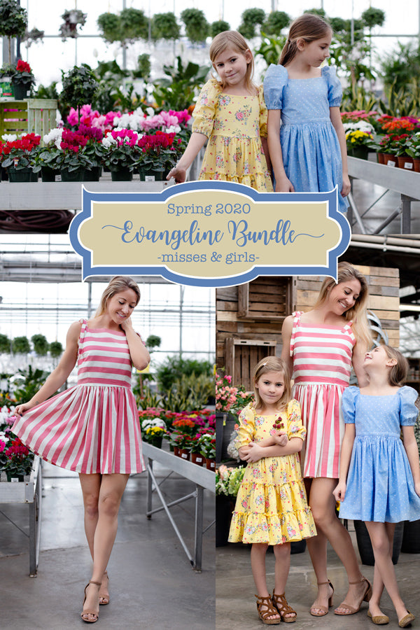 Evangeline Girls + Misses Top & Dress Bundle