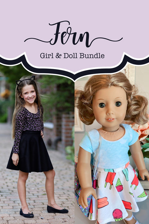Fern Girls & Doll Skirt Bundle