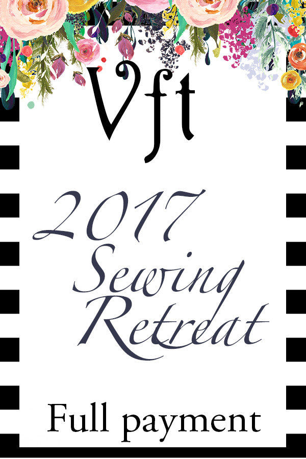 2017 Violette Field Threads Retreat {Full Payment Option} - Violette Field Threads  - 1
