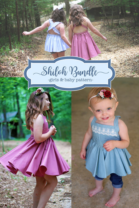 Shiloh Baby + Girls Top & Dress Bundle