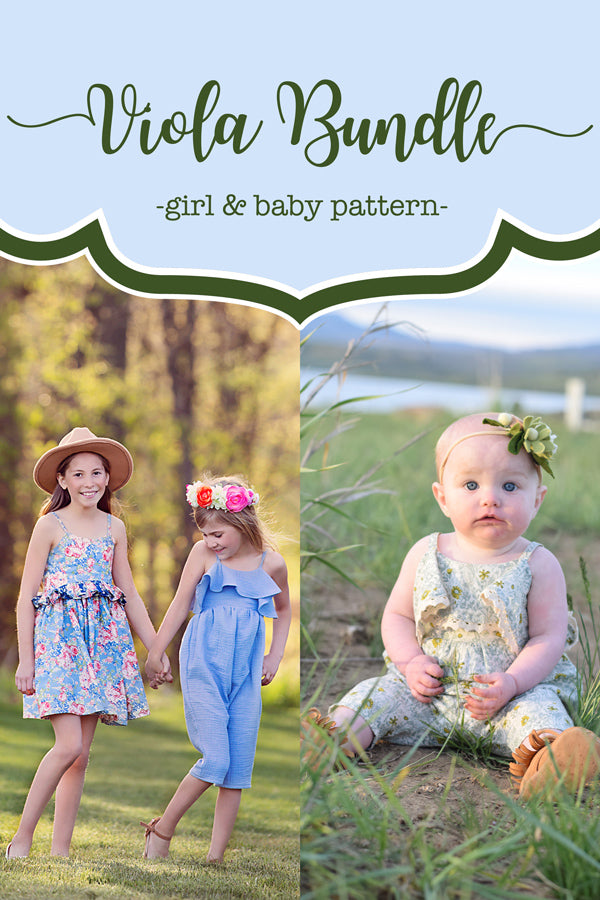 Viola Baby + Girl Dress & Romper Bundle