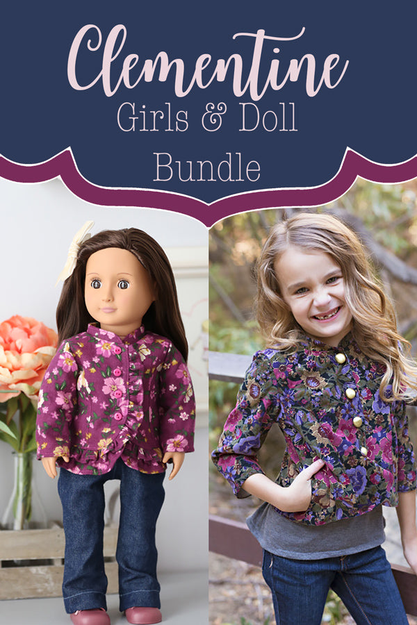 Clementine Girl + Doll Bundle