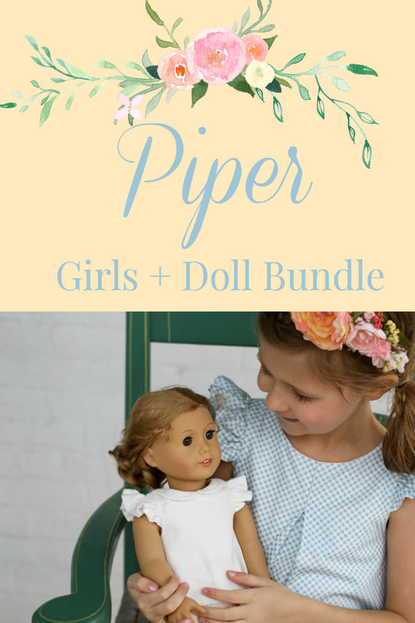 Piper Girl + Doll Bundle