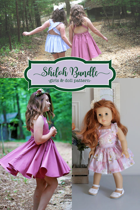 Shiloh Girls + Doll Top & Dress Bundle