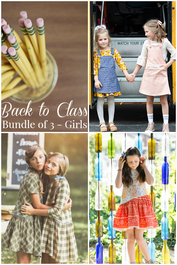 Back to Class - Bundle of 3 Girls Patterns