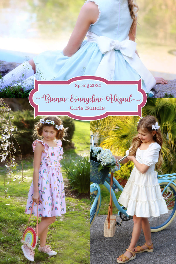 2020 Spring Girl Patterns - Pattern Bundle of 3