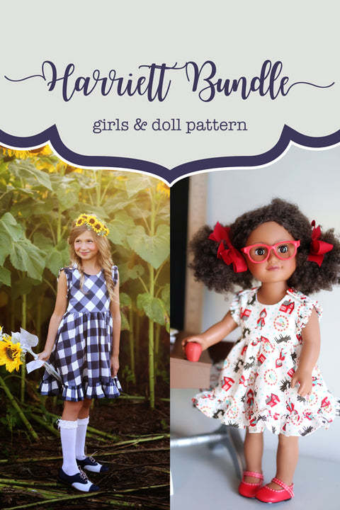 Harriett Girl + Doll Top & Dress Bundle
