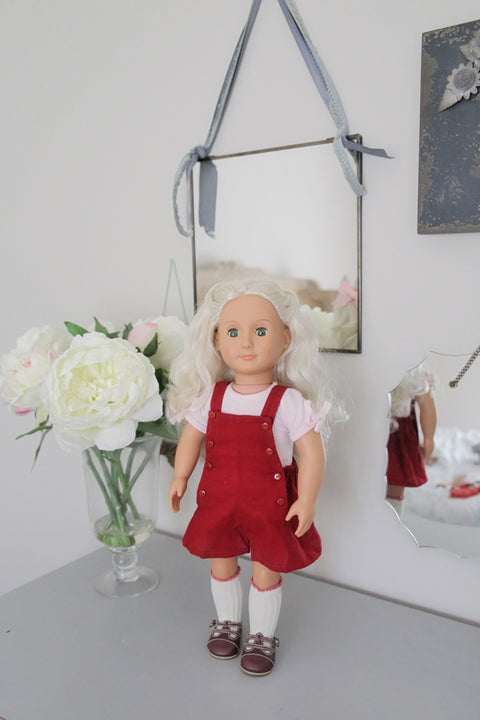 Julia Doll Shorts & Dress Jumper