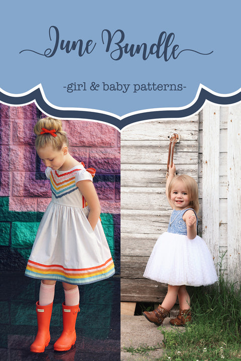 June Baby + Girl Dress Bundle