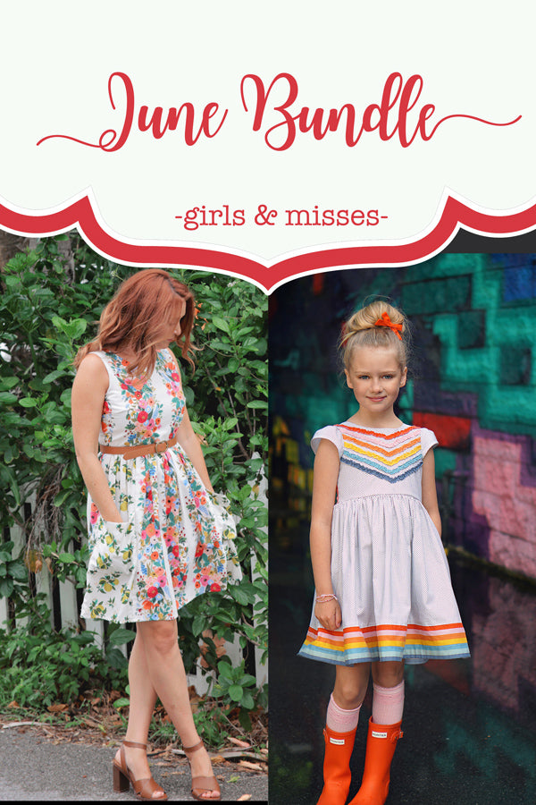 June Girl + Misses Dress Bundle