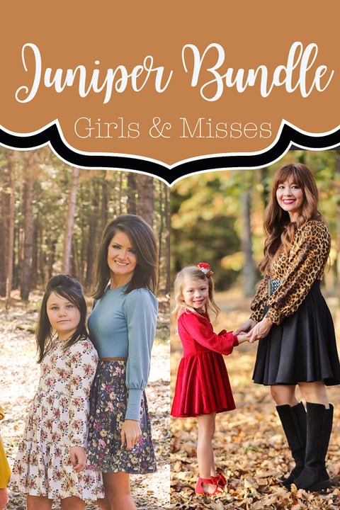 Juniper Girl + Misses Dress Bundle