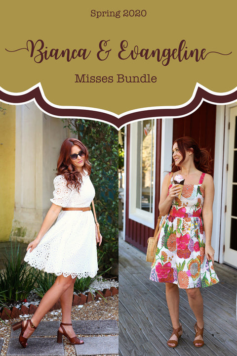 2020 Spring Misses Patterns - Pattern Bundle of 2