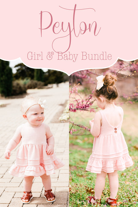 Peyton Baby + Girl Top & Dress Bundle