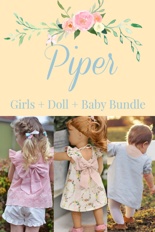 Piper Girls + Baby + Doll Bundle
