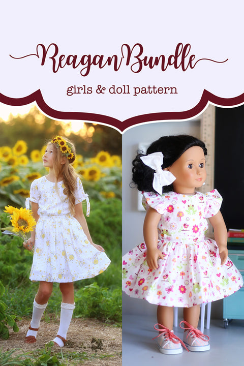 Reagan Girl + Doll Dress Bundle