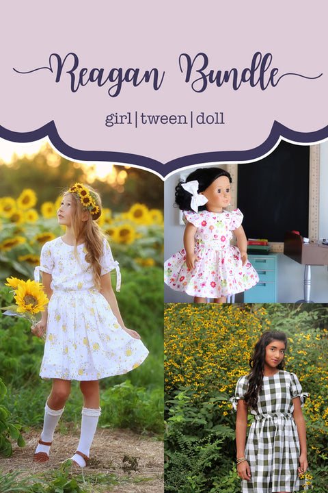 Reagan Girl + Tween + Doll Dress Bundle