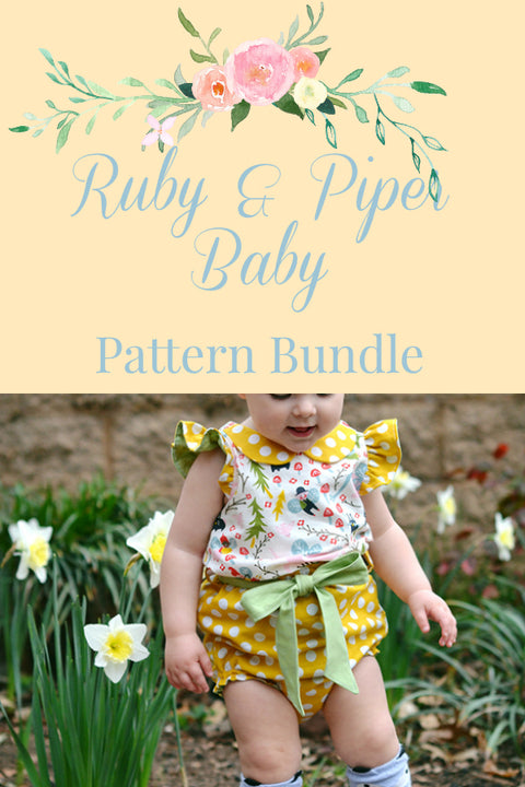 Piper & Ruby Baby Pattern Bundle