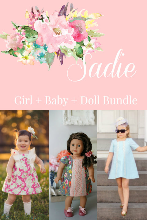 Sadie Girl + Baby + Doll Bundle