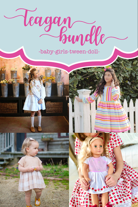 Teagan Baby + Girls + Tween + Doll Bundle