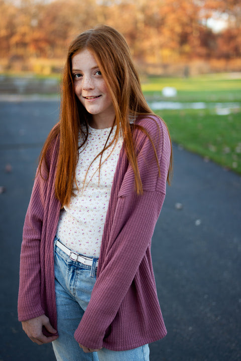 Patti Tween Cardigan