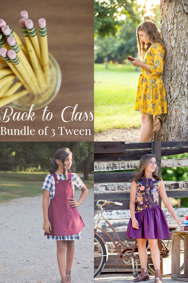 Back to Class - Bundle of 3 Tween Patterns