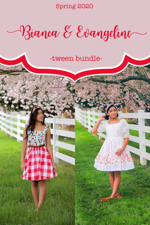2020 Spring Tween Patterns - Pattern Bundle of 2