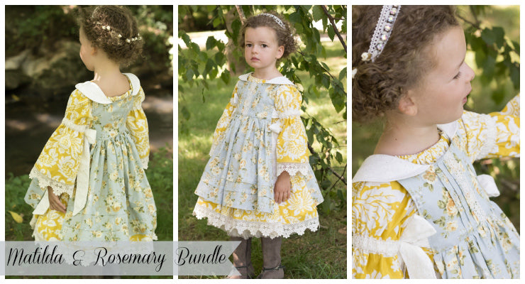 Rosemary and Matilda Bundle PDF Patterns