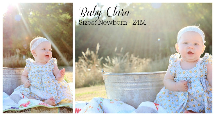 Baby Clara PDF Sewing Pattern