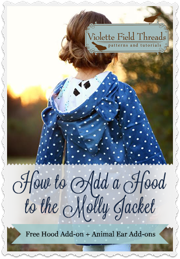 How to Add a Hood to the Molly Jacket
