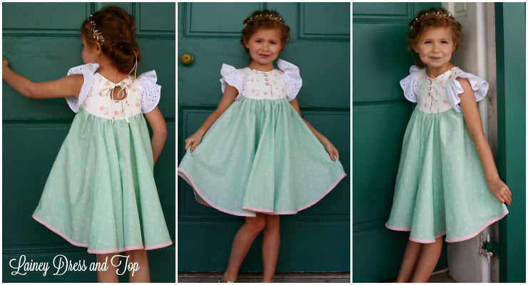 Annie Maxi Dress PDF Sewing Pattern