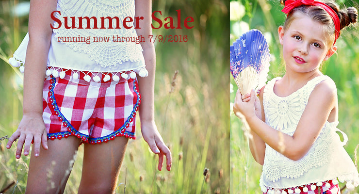 Summer Sale PDF pattern