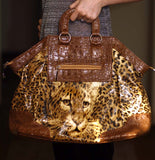 Extra Large Leopard Bag or Tote