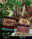 African Style Print Cloth Bags