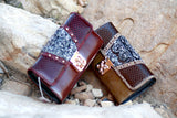 Western Style Wallet w Clover Clasp