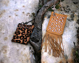 Western Suede Animal Prints Mini Bags, Phone, Wallet