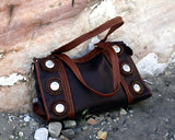 Dusty Plum Satchel Bag
