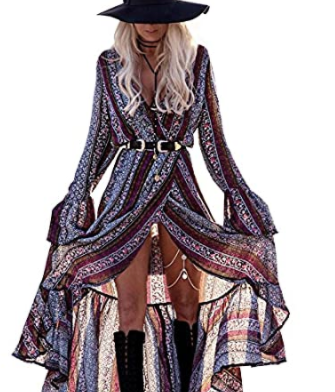 Lovely Bohemian Cardigan Dress