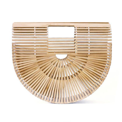 Japanese Bamboo Summer Beach Handbag