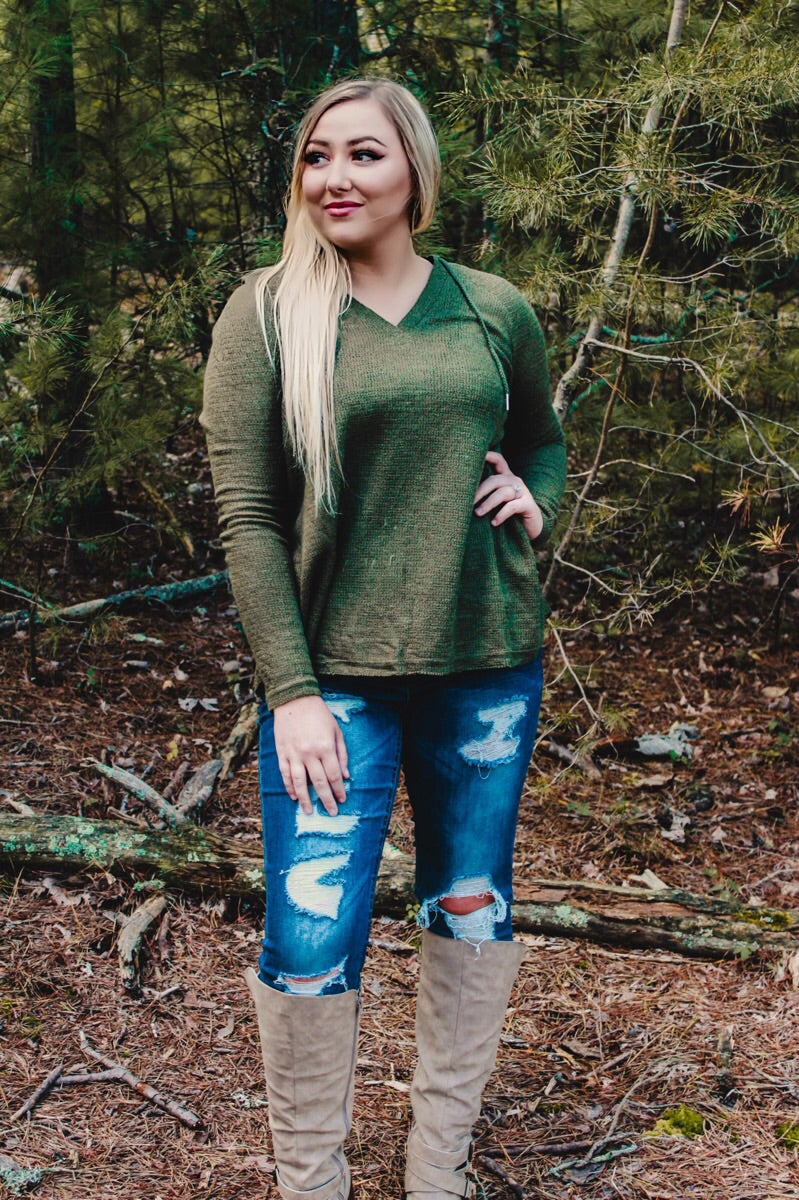 Army Green Long Sleeve