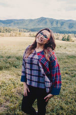 Two Toned Plaid Flannel