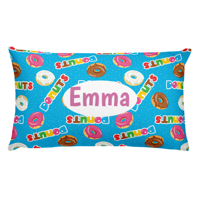 Donuts Personalized  Pillow