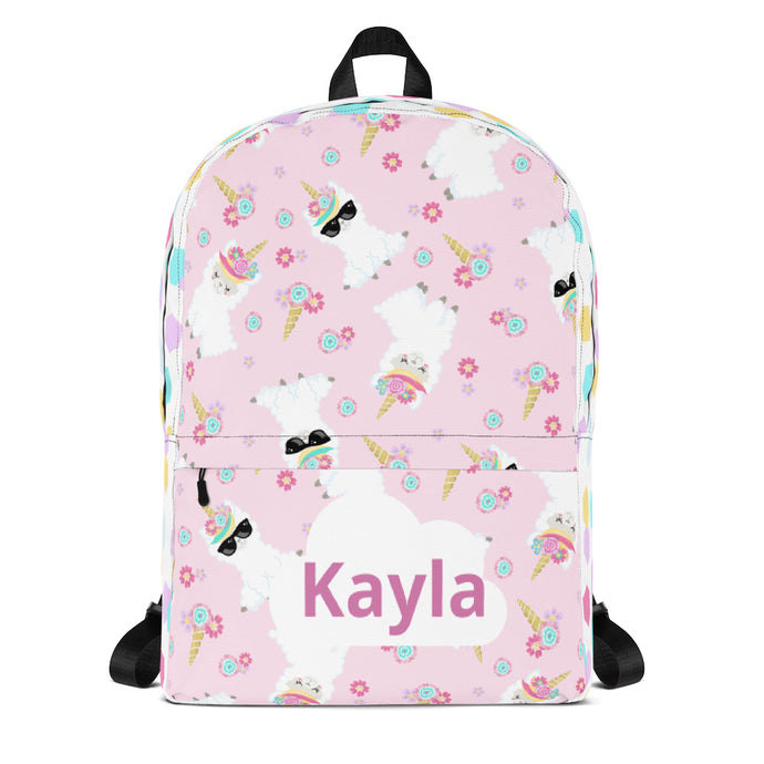 Unicorn Llama Backpack