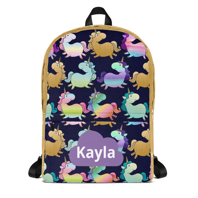 Rainbow & Unicorns Backpack