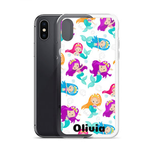 Mermaid Personalized iPhone Case
