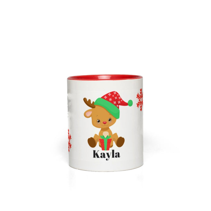 Baby Reindeer Accent Mugs