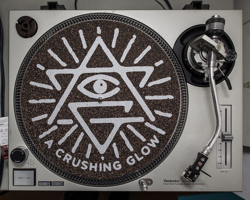 Matt Sewell's A Crushing Glow - Very Special Ltd Edition Turntable Mats