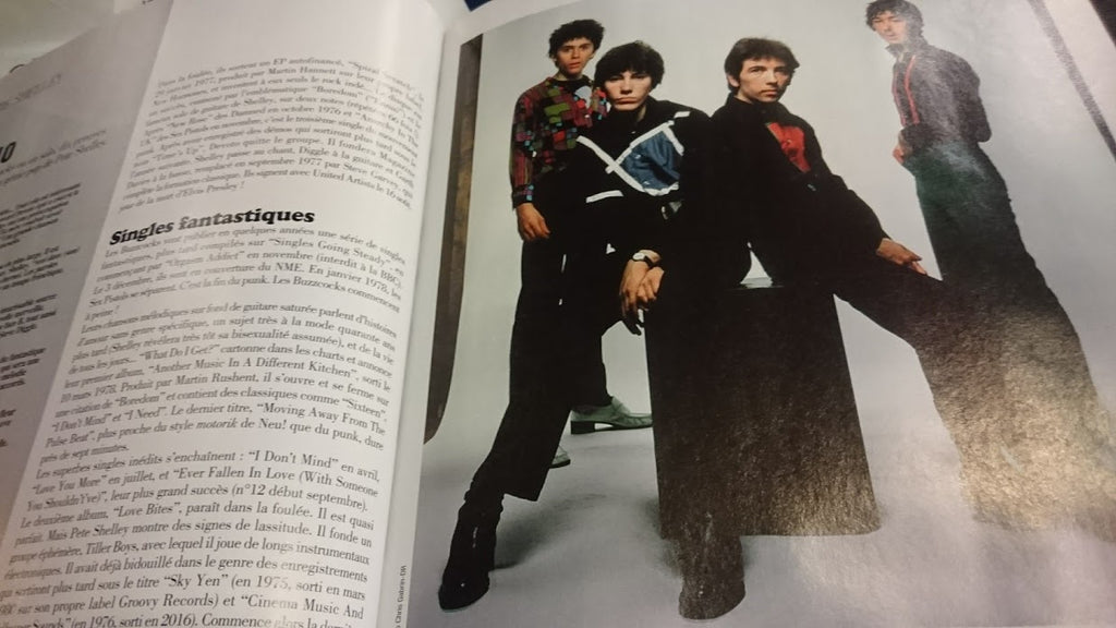 "Pete Shelley's ""Cinema Music"" on CTR In Rock & Folk Magazine (FR)"
