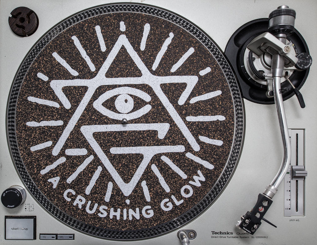 Matt Sewell's A Crushing Glow Turntable Mats - Limited Editions! Soon ..