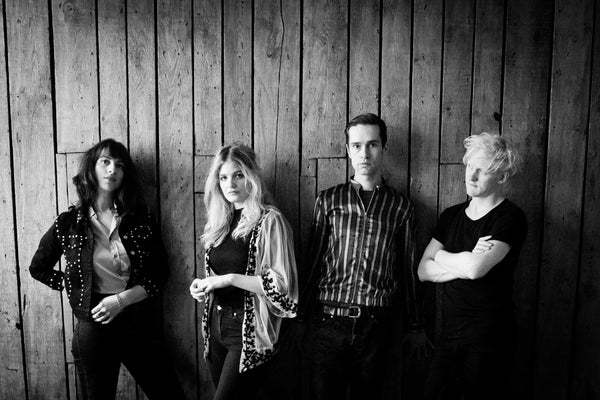 HEKLA-Photograph of the band - black and white